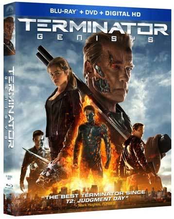 Terminator Genisys Blu-ray Cover