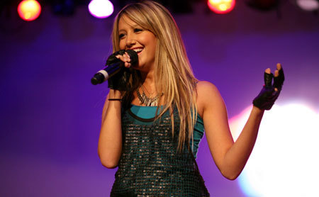 Ashley singing