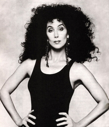 Cher rocked that '80s perm!