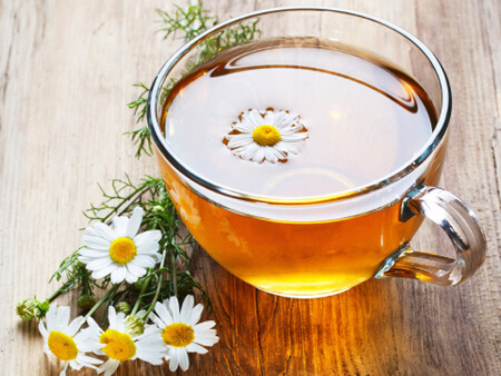 Chamomile tea can help you sleep