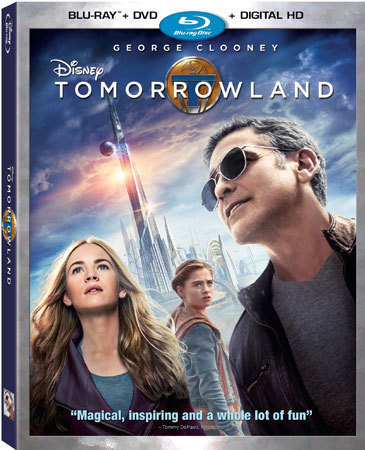 Tomorrowland Blu-ray Cover