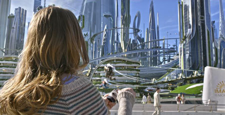 Casey in Tomorrowland