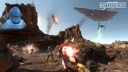 Are you playing the Star Wars Battlefront beta?