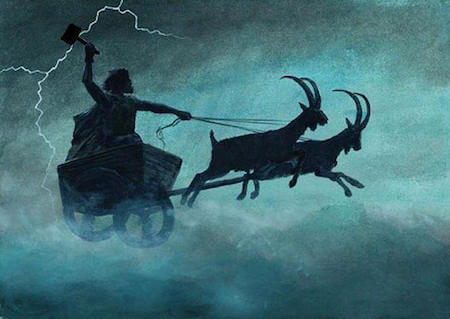 In English, Thursday is named after the ancient Norse god Thor.