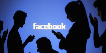 These days, many of Facebook's active users are accessing the site using their phones!