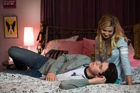 Nash with Caroline Sunshine in the film
