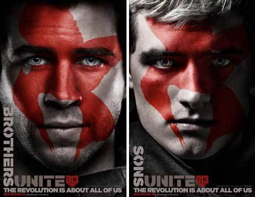 Gale and Peeta Revolution Posters