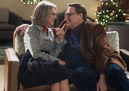 Diane Keaton as Charlotte, and John Goodman as Sam