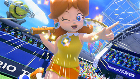 Mario Tennis: Ultra Smash is very pretty.