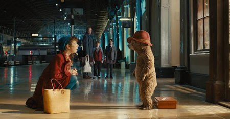 Mrs. Brown invites homeless Paddington to stay at her house