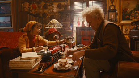 Mrs. Brown (Sally Hawkins) tries to help Paddington