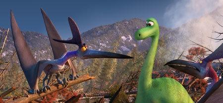 Arlo vs. evil Pterodactyls