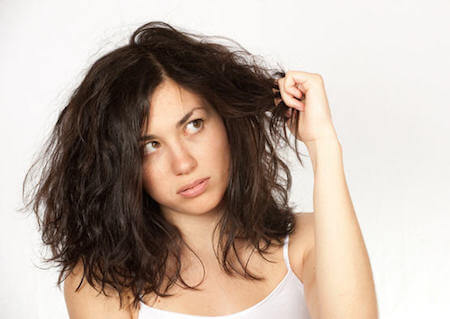 Dry hair can really be a bummer.