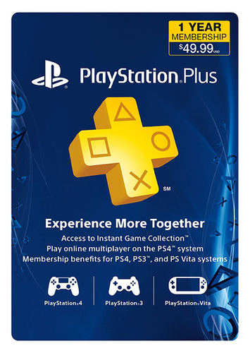 Play online with friends and get free games with a PS Plus subscription.