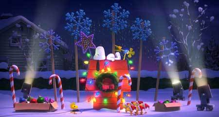 Snoopy's holiday