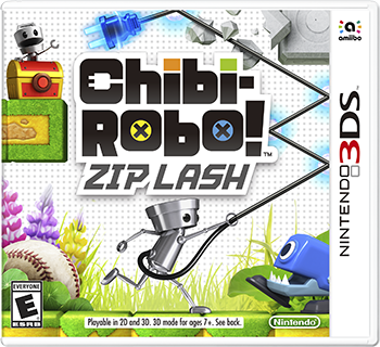 Chibi-Robo! Zip Lash is available now.
