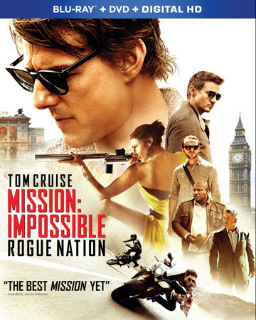 Mission: Impossible Rogue Nation Blu-ray Cover