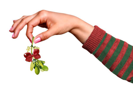 Kissing under the mistletoe is older than Christmas!