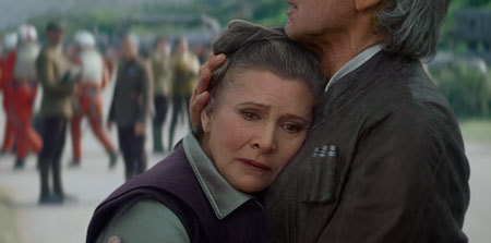 Leia and Han together again