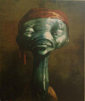 Lupita's Yoda-like character