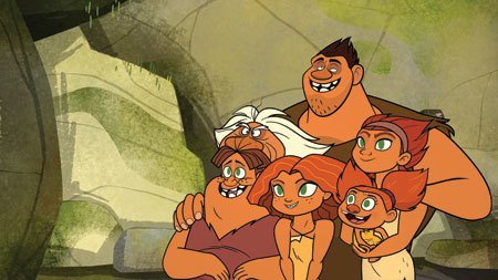 Family always comes first for the world's first family, the Croods