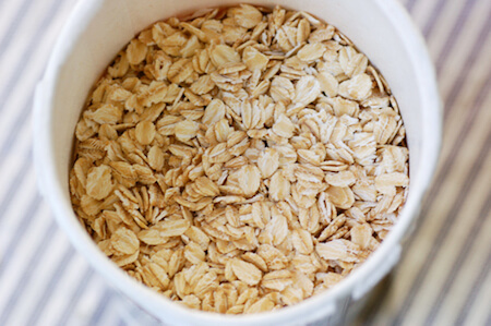 Up your immune system with rolled oats!