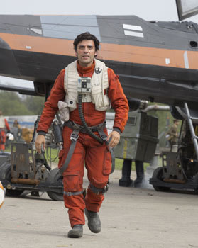 X-Wing fighter pilot Poe Dameron