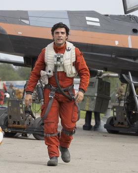 X-Wing fighter pilot Poe Dameron