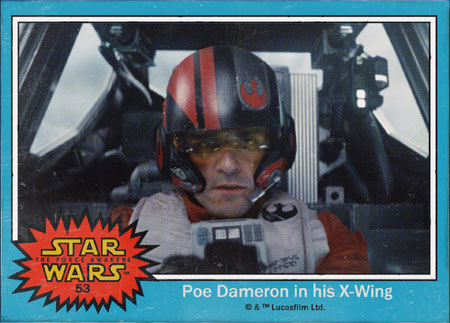 Poe trading card