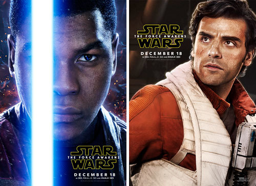Finn and Poe Posters