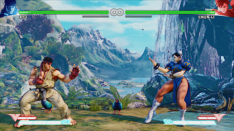 Street Fighter V is beautiful.