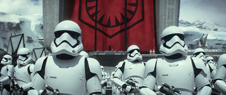 Stormtroopers are ordered to show no mercy