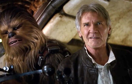 Han and Chewie to the rescue!