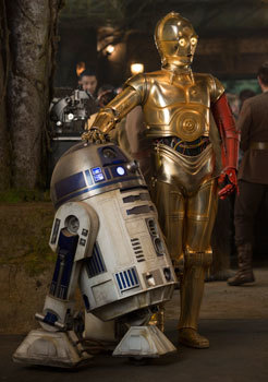 R2D2 and C3PO are back!