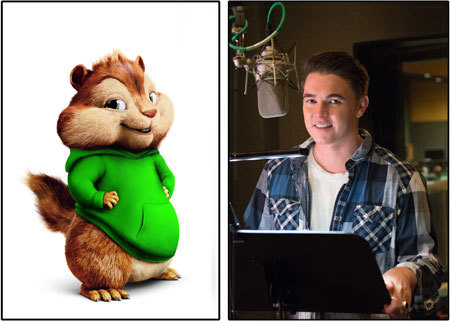 Jesse McCartney as voice of Theodore