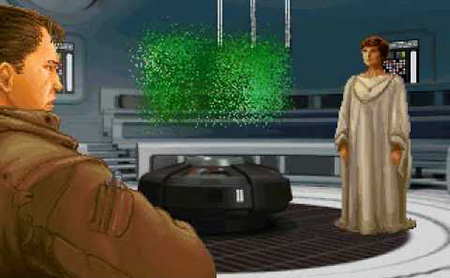 It's up to Kyle Katarn to steal the Death Star plans.