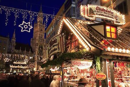 The Munich Christmas market is one of the oldest in Germany.