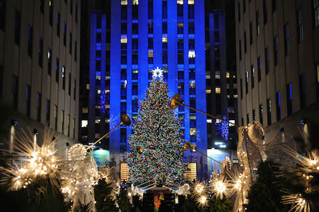 The big tree at Rockefeller Center is not to be missed!
