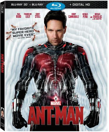 Ant-Man Blu-ray