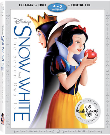Disney's Snow White and the Seven Dwarves Blu-ray Cover