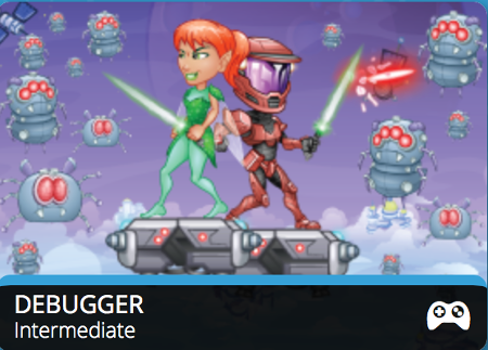 Try our New Game, Debugger
