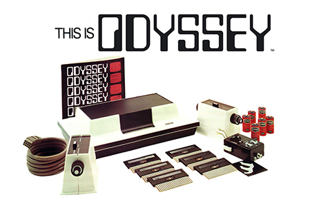 The Brown Box was rediesigned and released as the Magnavox Odyssey!