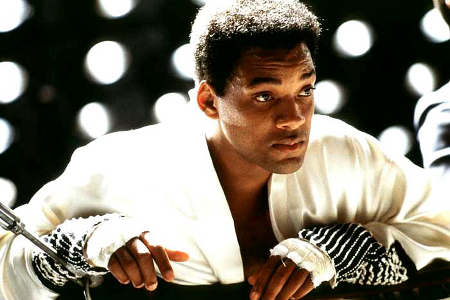 Will Smith as champion boxer Muhammad Ali