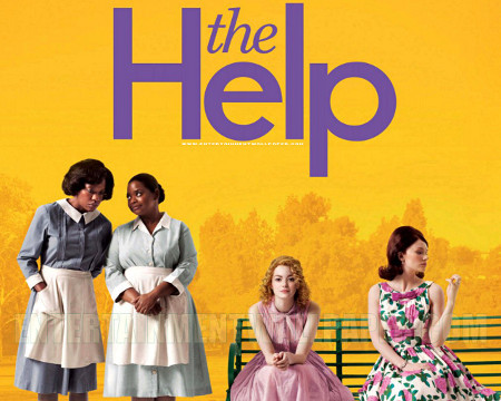 Viola Davis and Emma Stone star in The Help