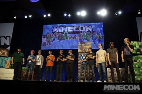 Minecon is a big event for Minecraft fans.