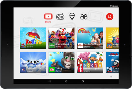 YouTube Kids Screen Shot