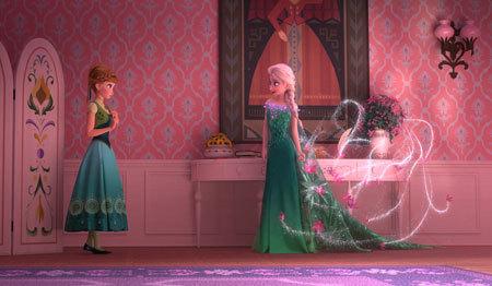 Anna with Elsa