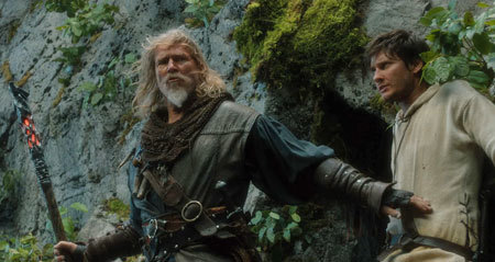 Gregory (Jeff Bridges) and Tom (Ben Barnes) on their quest