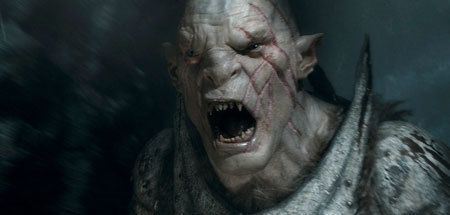 Terrifying Orc leader