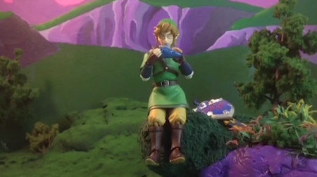 Zelda gets the claymation treatment from a fan!